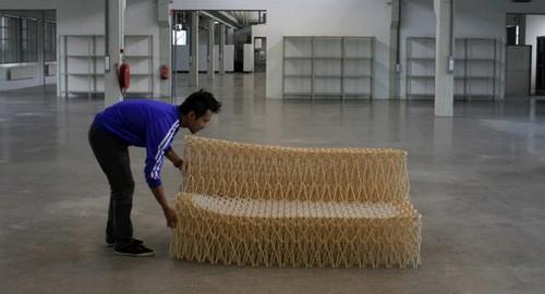 Sofa extensible par Yuya Ushida
