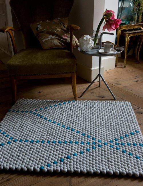 Géométrie et tapis par Scholten et Baijings
