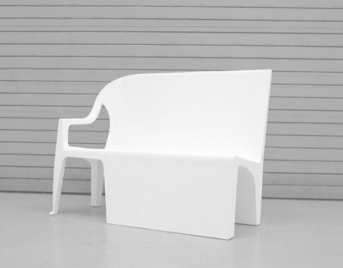 Bench chair par Thomas Schnur