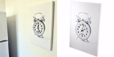 Horloge 2D ou 3D ?