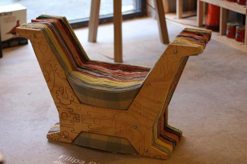 Chaise vintage par Filipa Ricardo