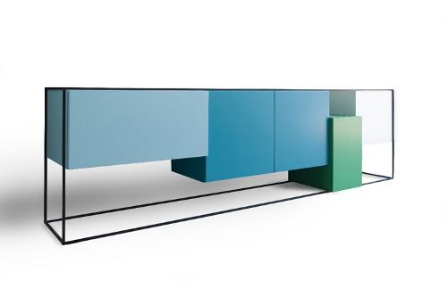 Bahut color framed par koenraad ruys blog esprit design for Meuble design belge