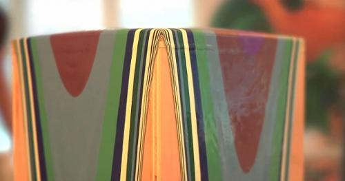L'art de la peinture qui coule par Holton Rower