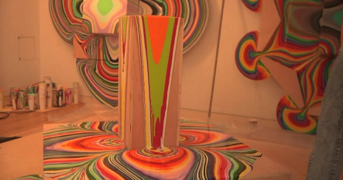 L 39 art de la peinture qui coule par holton rower blog for Galerie art minimaliste