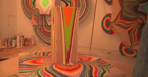 L 39 art de la peinture qui coule par holton rower blog for Galerie art minimaliste