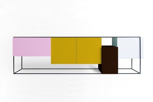 Bahut coloré Framed par Koenraad Ruys