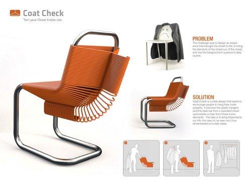 Chaise et Cintres par Joey Zeledón
