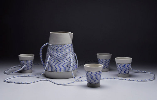 Tea set, garder le lien par Joon Lee