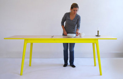 Table concept E8 par Mathias Hahn