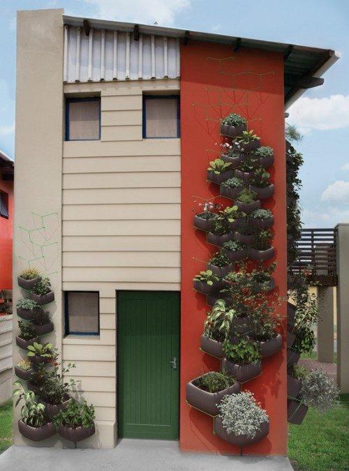 Concept jardin urbain par Haldane Martin