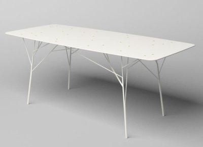 Tables arbustres par Zhili Liu