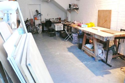 Emilie Voirin son atelier
