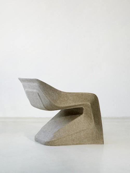 Hemp Chair, fauteuil de chanvre par Werner Aisslinger