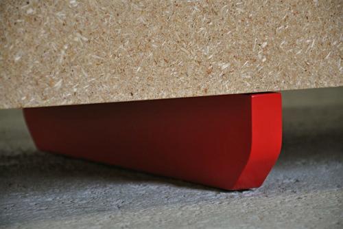 Bois reconstitué et Design par Jens Praet