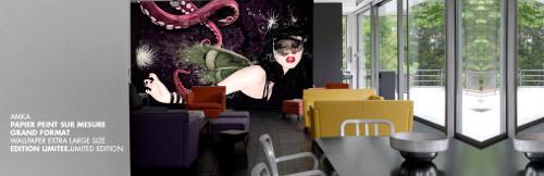 AmkaShop, Street Art numérique pour intérieur
