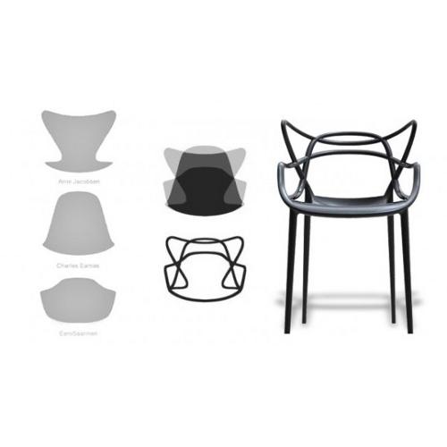 grand concours une chaise masters de chez kartell gagner blog esprit design. Black Bedroom Furniture Sets. Home Design Ideas