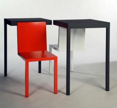 Concept Chaise + Table par Melvin Ong