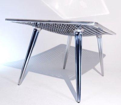 Table concept râpe par Daniel Rohr