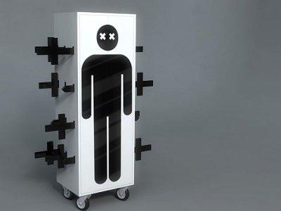 Solution de stockage magique par Rafael Morgan