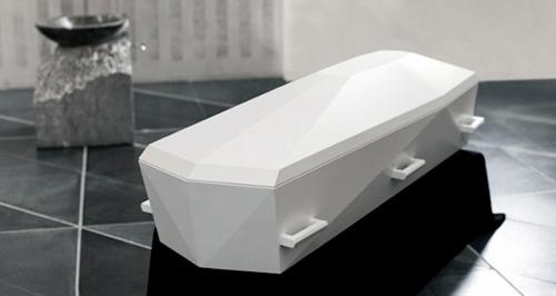 Cercueils et Urnes Design par Jacob Jensen