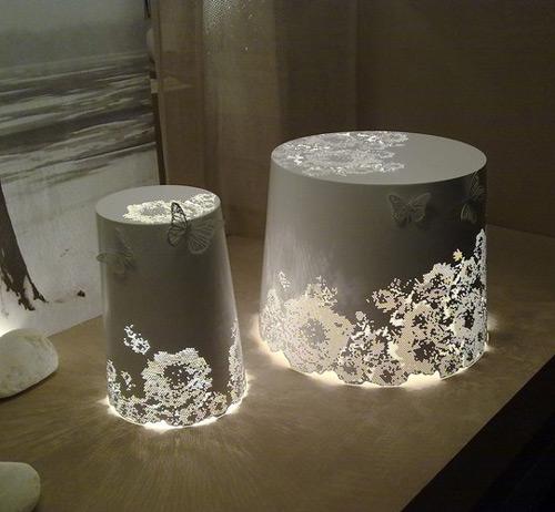 Luminaire En Aluminium Romantique Par Karman Blog Esprit
