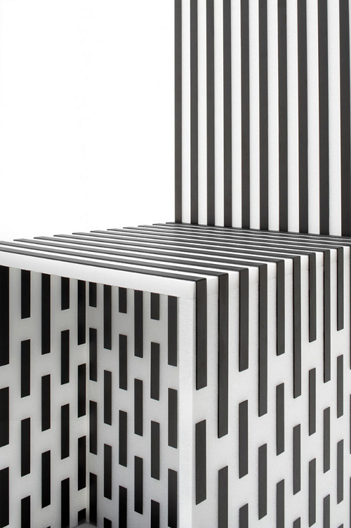 Carbone visible par Nendo