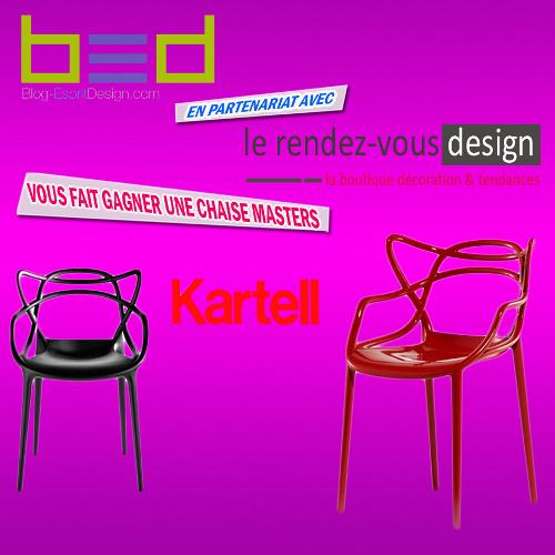 Une chaise Masters de Kartell bientôt à GAGNER