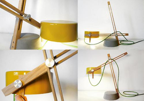 Ferréol Babin un design sensoriel : luminaire Compas