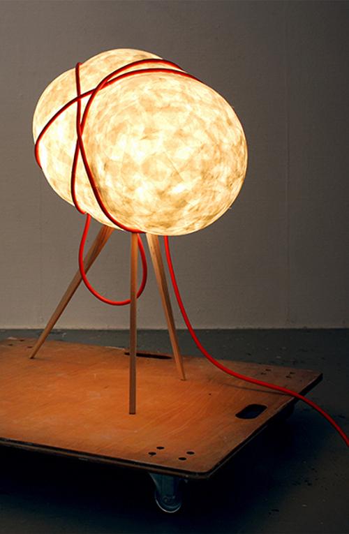 Ferréol Babin un design sensoriel : luminaire Sampo