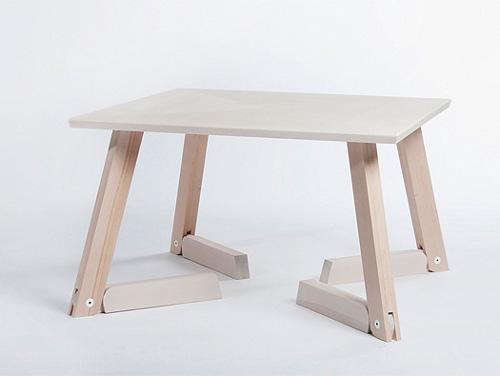 Lève toi et marche, Bambi table par Caroline Olsson