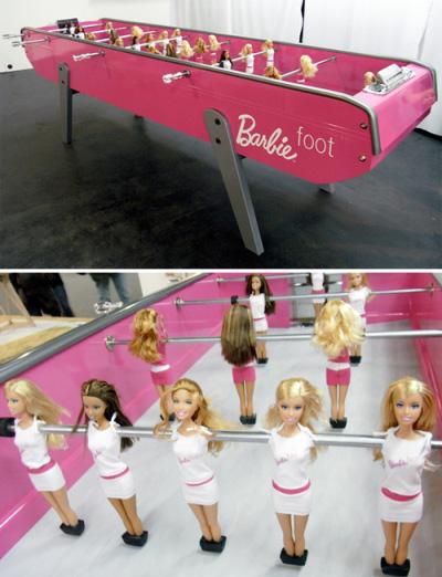 Une petite partie de BarbieFoot ?