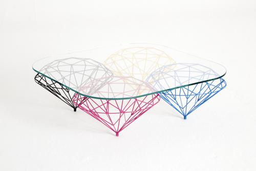 Diamonds Table par Bashko Trybek