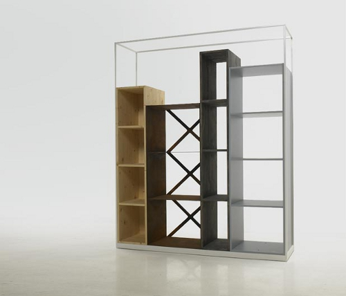 Bibliothèque Industry par Benjamin Hubert