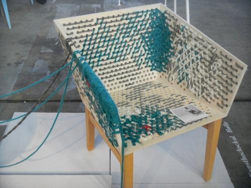 Chaise à broder par Susanne Westphal
