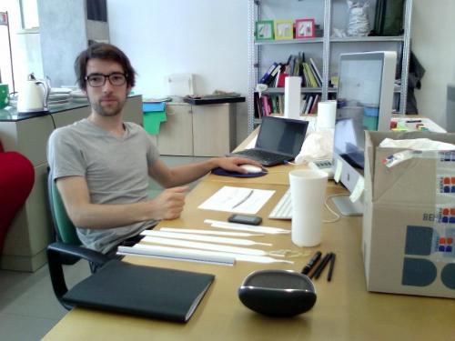 Mon métier : Designer à contraste par Amaury Poudray