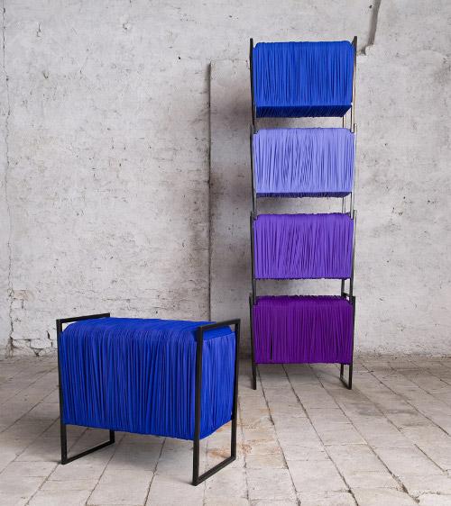 Stockage fragmented par Francesca Lanzavecchia et Hunn Wai
