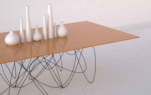 Quantum table, rencontre entre physique et design par Jason Phillips