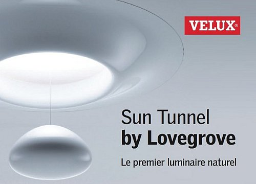 Sun Tunnel, terminé les pièces sombres par Velux