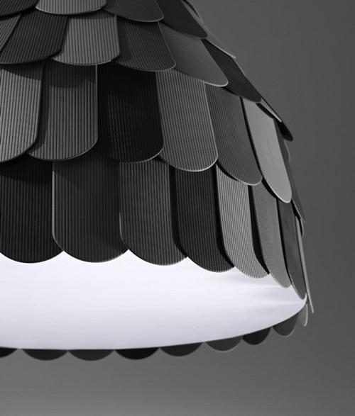 Lampe à tuiler par Benjamin Hubert