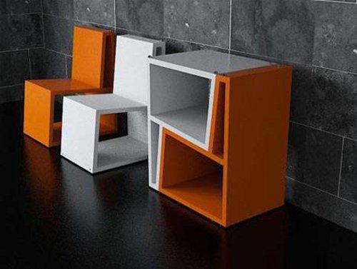 Chaises empilables Silla Bi par le studio Elemento Diseño