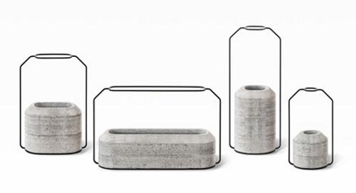 Collection Weight, vases lestés par Decha Archjananun