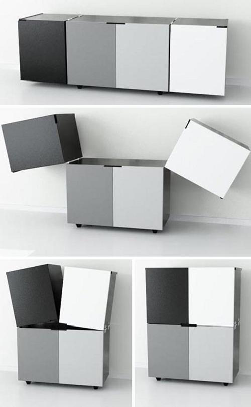 Bahut Cubox par le studio Elemento Diseño