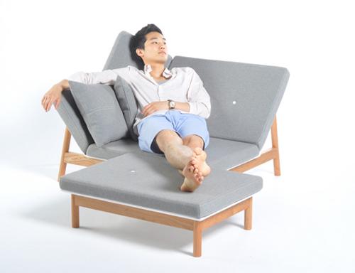 Luso Lounger, chaise longue réinterprétée par James Uren - Blog on chaise furniture, chaise sofa sleeper, chaise recliner chair,