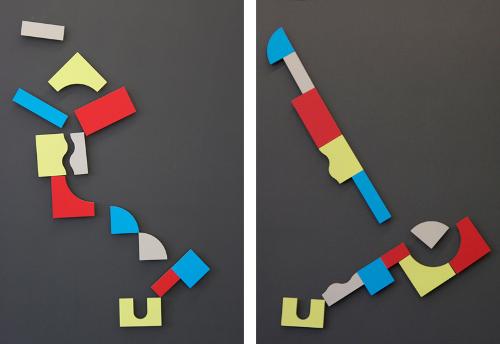 Plama 2D, tableau interactif par Bernhard Burkard