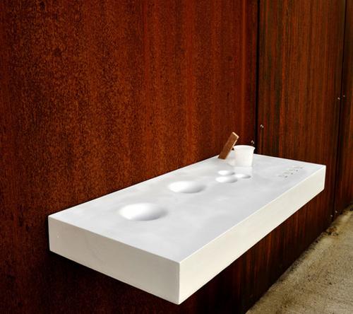 Purificateur d'eau minimaliste par Nicola Loi