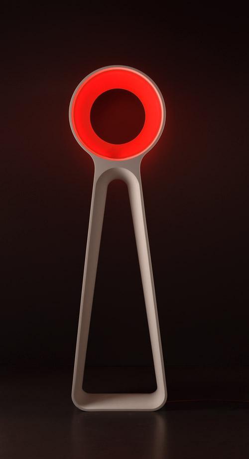 Lampadaire Octopus, un OVNI par Inveno Design