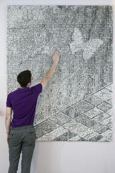 Un tapis mural ? giles miller