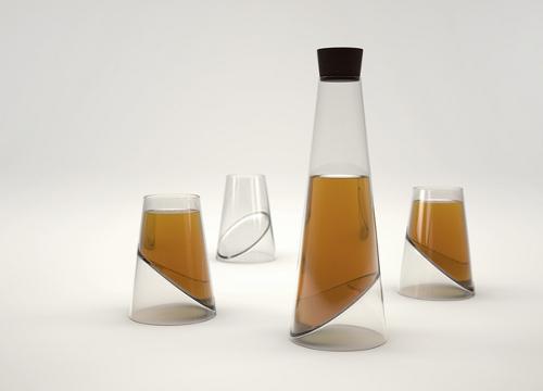 Slice Glass, simplicité et dynamisme par Vasiliy Butenko