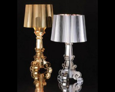 Lampe Bourgie, baroco - chic par Kartell