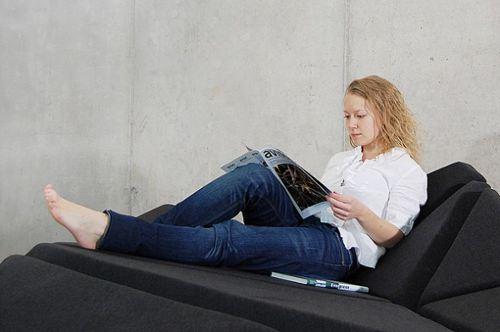 Canapé mouvant par Alexander Rehn